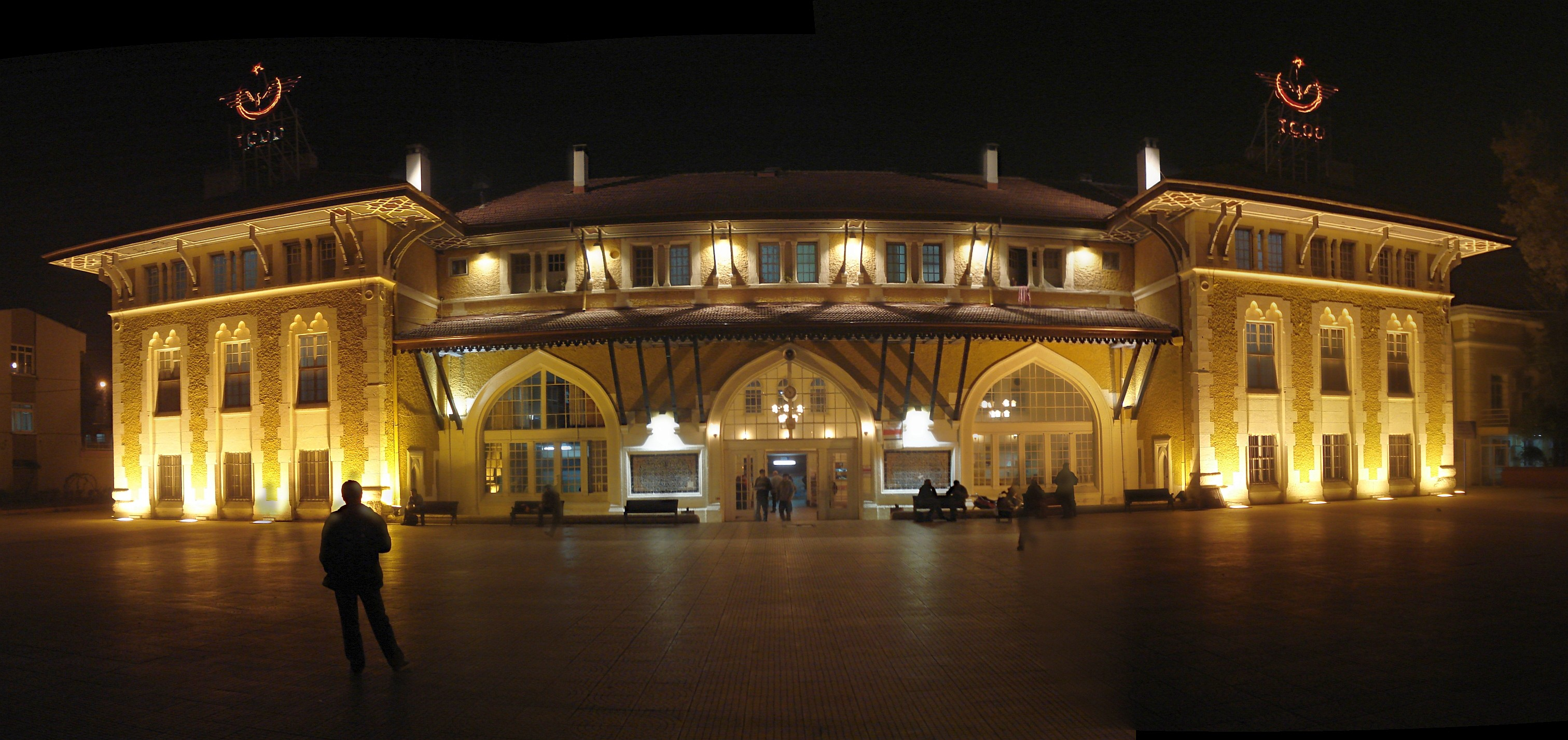 Adana_Garı(Gece)